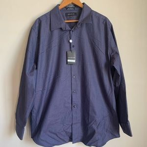 Jones New York 80's Two Ply Button Down size XL